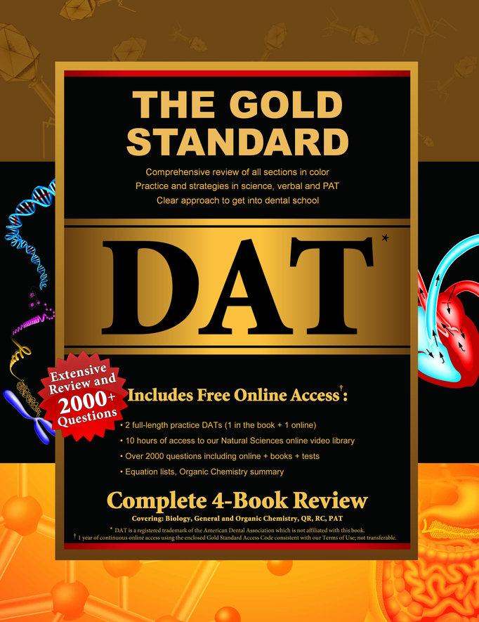DAT Prep: Gold Standard DAT Preparation (Dental Admission Test)
